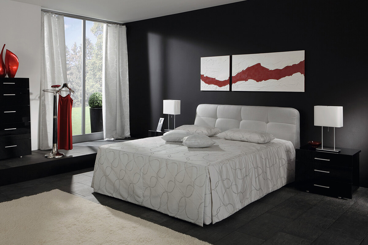 ruf betten composium polsterbetten sleeping art schlafkonzepte. Black Bedroom Furniture Sets. Home Design Ideas