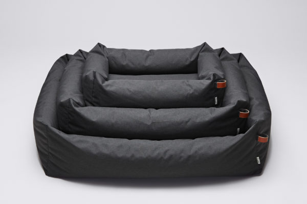 Cloud7-Dog-Bed-Sleepy-Deluxe-Graphite-Waterproof-SML