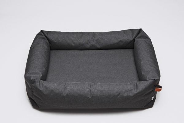 Cloud7-Dog-Bed-Sleepy-Deluxe-Graphite-Waterproof-size-M