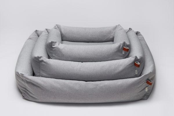 Cloud7-Dog-Bed-Sleepy-Deluxe-Tweed-Grey-SML